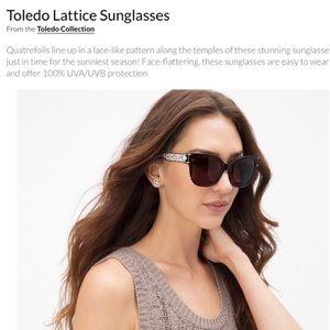 Sunglasses-Brighton Toledo Lattice NEW!
